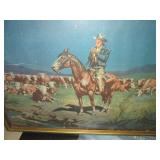 Norm Saunders Cowboy Print