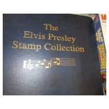 Elvis Presley Stamp Album