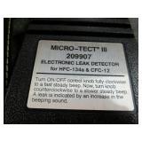 Micro-Tect III 209907 Leak Detector