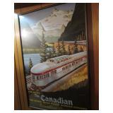 The Canadian Railroad Print