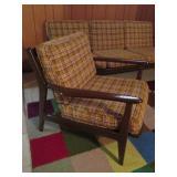Danish Mid Century Sofa & Chair