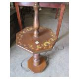 Toll Painted Tray Lamp