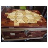 Tramp Art Dresser Box
