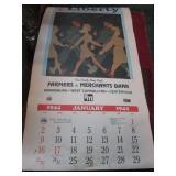 1944 Advertising Calendar