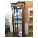 Lighted Etagere Display Cabinet