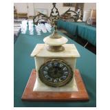 Marble Ansonia Clock