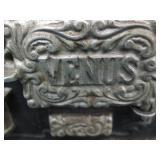 Vintage Cast Iron Venus Miniature Stove
