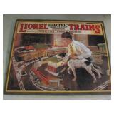 Metal Lionel Trains Sign