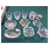 Railroad Ashtrays & Glassware