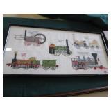 Train Railroad Prints & Artwork