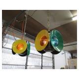Dressel Railroad Hanging Lights