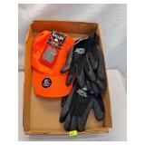 Hat & Vest, Gloves