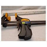 """24"""" Quick-Grip Bar Clamps"""