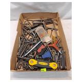 Assorted Hex Wrenches