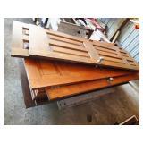 Oak doors & trim