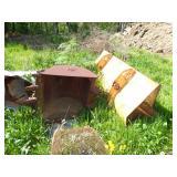 Backhoe buckets