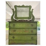 Antique toy dresser