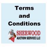 Auction Terms (Please Read)