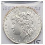 1887 MS63/65 Morgan Silver Dollar