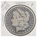 1878 CC F Morgan Silver Dollar