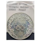 1988 S Proof United States Olympic Dollar