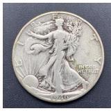 1946 D Walking Liberty Half Dollar