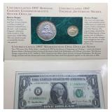 The U.S. Botanic Garden Coinage & Currency Set