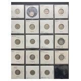 19 Mercury Silver Dimes