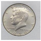 1970 S Kennedy Half Dollar