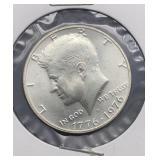 1776-1976 S Kennedy Half Dollar