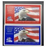 2003 U.S. Mint Uncirculated Coin Set