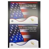 2018 U.S. Mint Uncirculated Coin Set