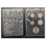1991 That Very Special Year Coin Booklet