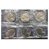 6 - 1964 Jefferson Nickels