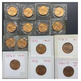 15 Lincoln Head Cents