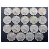 19 - 1972 Kennedy Half Dollars