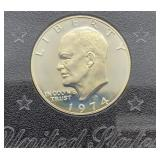 1974 S Eisenhower U.S. Proof Dollar