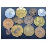 12 Souvenir & Commemorative Coins