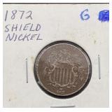 1872 G Shield Nickel