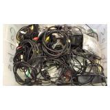 Tote of Cable Cords & More
