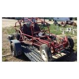 VW Rail Frame Dune Buggy & Trailer