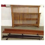 Queen Size Wood Bed Frame