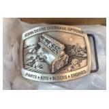 John Deere Overhaul Options Belt Buckle