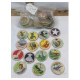 Vintage Kids Milk Bottle Lids