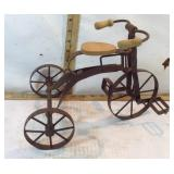 Decorative Metal Doll Tricycle