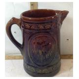 Vintage Ceramic Pottery Milk Pitcher