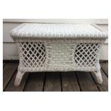 Wicker Coffee Storage Table