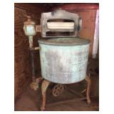 Vintage Anchor Brand Wringer Washing Machine