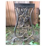 Helpmate Cast Iron Sewing Table Bottom