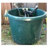 Fortified 70 Qt Heavy Duty Bucket & Eveners B
